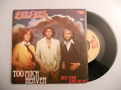 Vinile 45 Giri - Bee Gees - Too much heaven / Rest your love... - RSO 2090 331