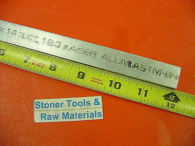 "3/8"" X 3/4"" ALUMINUM 6061 FLAT BAR 12"" long T6511 .375"" New Mill Stock"