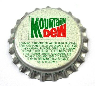 Vintage Mountain Dew Kronkorken USA Soda Bottle Cap Cincinnati