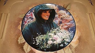 "The Franklin Mint: 8"" Plate - Diana, Princess of Wales: THE PEOPLES PRINCESS P16"