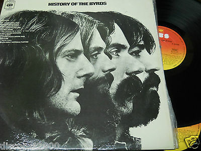 """THE BYRDS - History Of The Byrds, 2XLP 12"""" SPAIN 1976 GATEFOLD"""