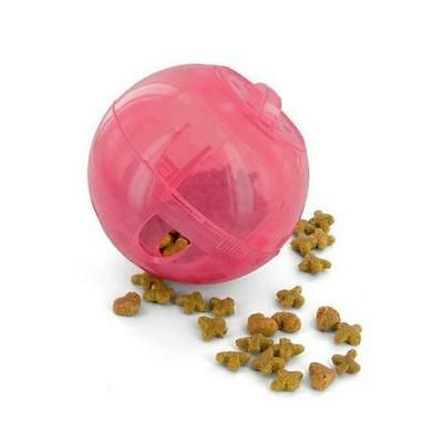 Petsafe Slim Cat Pet Feeder Nourrir système alimentaire Weight Control Toy Pink