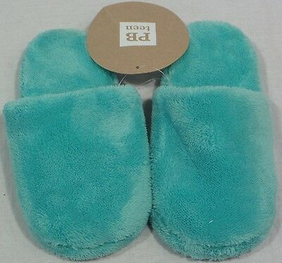 Pottery Barn PB Teen Pool Super Plush Slippers Small