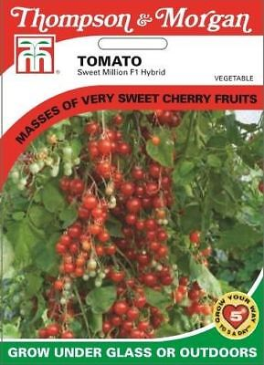 Thompson & Morgan - Vegetables - Tomato Sweet Million F1 - 6 Seed