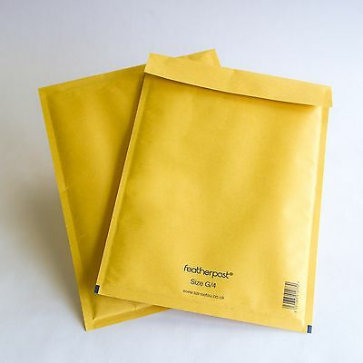 NEW! 50 100 Padded Featherpost Bubble Envelope Mailer Bag! ALL Sizes A 000 - L 8