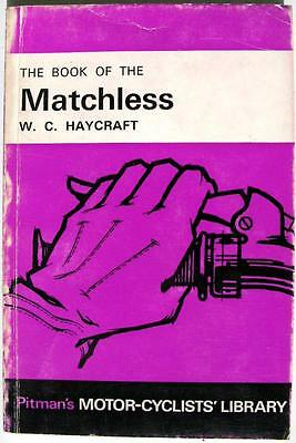 The Book of the MATCHLESS 350/500cc OHV - Motorcycle Handbook - 1967 - PITMAN'S