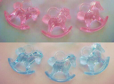 Baby Shower Favors - Rocking Horses - MIXED (2x Packs of 16)
