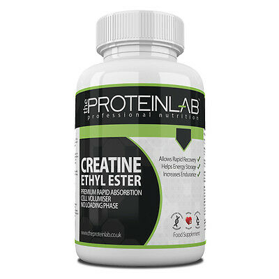 Creatine Ethyl Ester Cee Tablets, Anabolic Growth, Muscle Gain, 2000Mg Per Dose