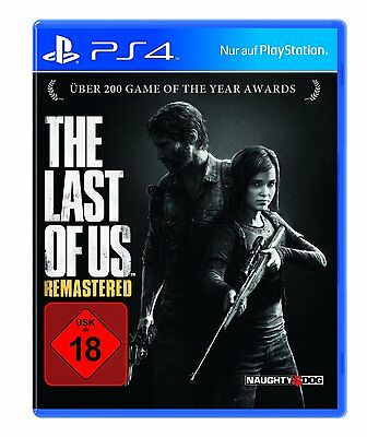 The Last of Us - Remastered        PS4      Playstation 4    !!!!! NEU+OVP !!!!!