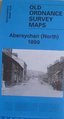 Old Ordnance Survey Map Abersychan North  Monmouthshire 1899 Sheet 18.06 New