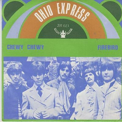 """OHIO EXPRESS - Chewy Chewy - r@re Spanish 7"""" single 45 Spain 1968"""