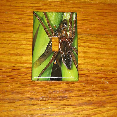 Classic Brown Water Spider Light Switch Cover Plate