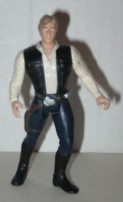 "1995 Han Solo Action Figure 3.75"" by Kenner No Accessories"