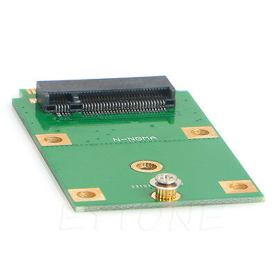 M.2 NGFF SSD to Mini PCI-E mSATA Adapter Card Replacement Converter NEW