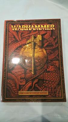 Warhammer Rulebook Fantasy Large thick Softcover Games Workshop 2000 OOP