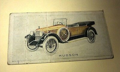 1923 HUDSON SUPER SIX 6 Orig Wills Cigarette Card New Zealand