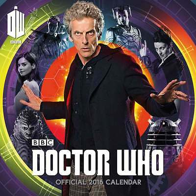 Dr Who Wall Calendar 2016 - New & Sealed - Christmas Gift