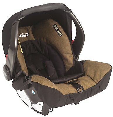 0-18m Graco Snugsafe Baby Rear Facing Travel Car Seat Booster Newborn Infant NEW