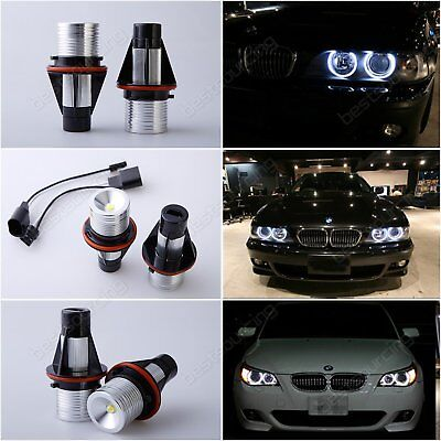ANGEL EYES LED MARKER LIGHT 6000K White Bulb BMW E39 E60 525i 530i M5 E61 530xi