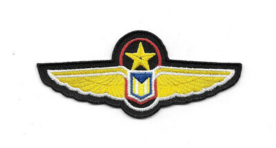 Babylon 5 Uniform Wings Embroidered Shoulder Patch NEW UNUSED
