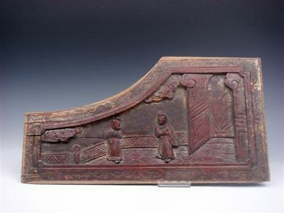 Old Antique Wooden Hand Crafted Old Wall Decoration Hanging Panel Home Decor #C4