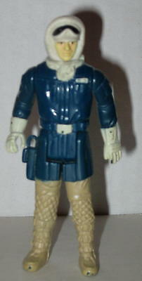 """1980 Han Solo in Hoth Gear by Kenner No Accessories 3.75"""" FREE Shipping"""