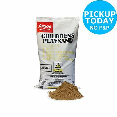 Children's Play Sand - 15kg Bag. From the Official Argos Shop on ebay