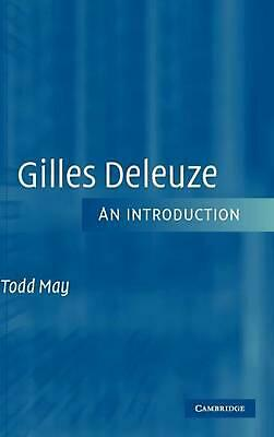 Gilles Deleuze: An Introduction by Todd May (English) Hardcover Book Free Shippi