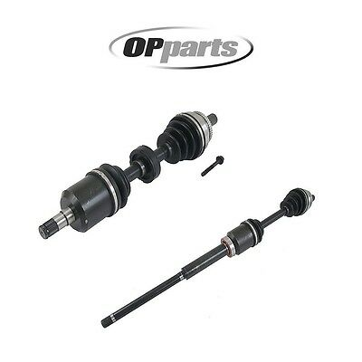 Set of 2 Front CV Axle Assemby Volvo 8252033 8252046