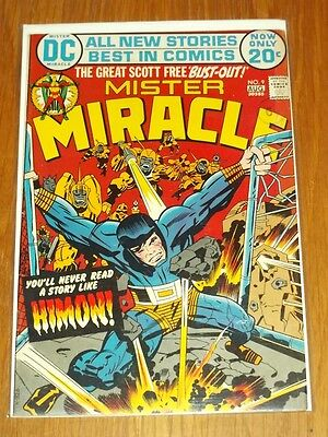 Mister Miracle #9 Fn (6.0) Dc Comics August 1972 Kirby+