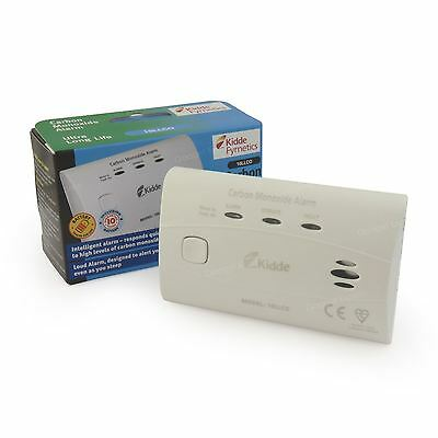 Carbon Monoxide Detector Alarm 10 Year! Built In Battery Life 10LLCO by Kidde