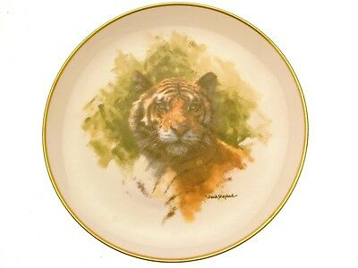 Spink The David Shepherd Wildlife Collection Tiger Plate GB199