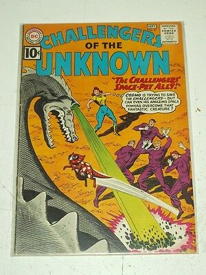 Challengers Of The Unknown #21 Fn- (5.5) Dc Comics September 1961+