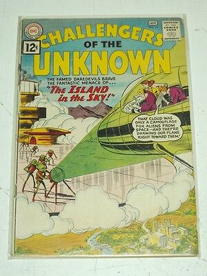 Challengers Of The Unknown #23 G/Vg (3.0) Dc Comics January 1962+