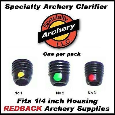Specialty Archery Clarifier Number 3 fits 1/4 housing