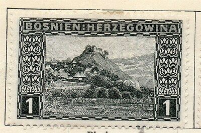 Bosnia Herzegovina 1906 Early Issue Fine Mint Hinged 1h.