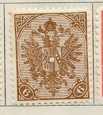 Bosnia Herzegovina 1900 Early Issue Fine Mint Hinged 6h.