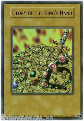 Glory of the King's Hand Ultra Rare Limited Edition Mint YuGiOh Card