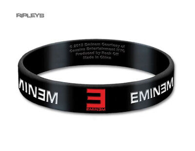 Official EMINEM Silicone Wristband  Recovery LOGO Black Gift