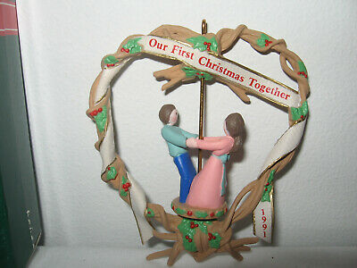 "Hallmark ""our First Christmas Together"" 1991 Twl. About"
