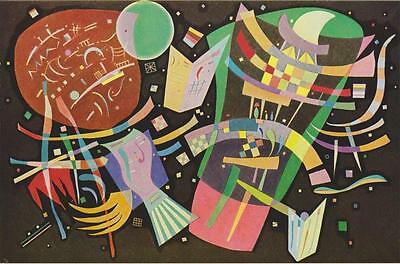 WASSILY KANDINSKY Antique Abstract Print Excellent Condition Bright and Clean