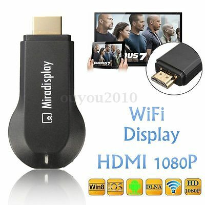 Récepteur Affichage Miracast Dongle WiFi DLNA Airplay HDMI 1080P Média Partager