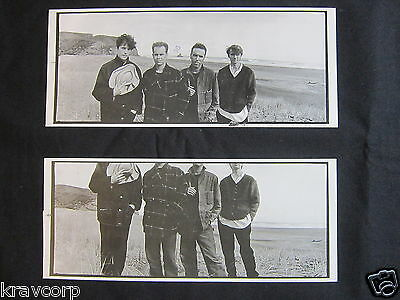 Crowded House—Two 1993 Promotional Postcards