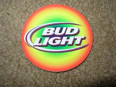 BUDWEISER Bud Light iconic font logo STICKER decal craft beer brewing brewery