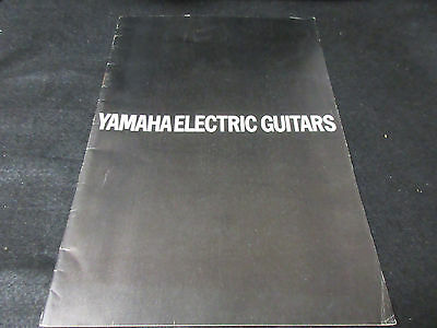 Yamaha Electric Guitars Japan Catalog in 1973 SG AE Models Bass Guitar