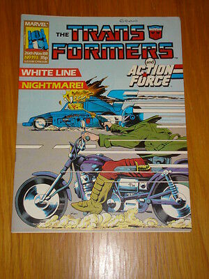 Transformers British Weekly #193 Marvel Uk Comic 1988