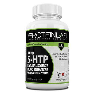 5HTP Insomnia Anxiety Depression Appetite Control Natural Serotonin Relaxation