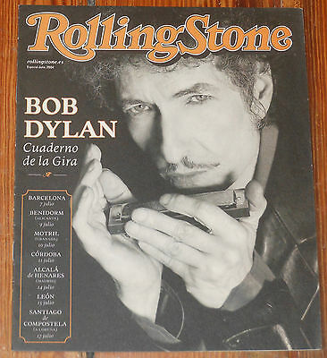 BOB DYLAN Rolling Stone 2004 Special Spanish Tour magazine
