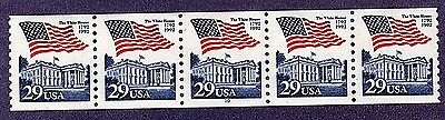 #2609 Flag over White House  PNC5  Pl #10 - MNH
