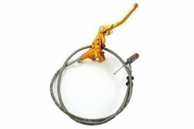 HMParts Dirt Bike Monkey hydraulisches Kupplungs Set gold 1200 mm